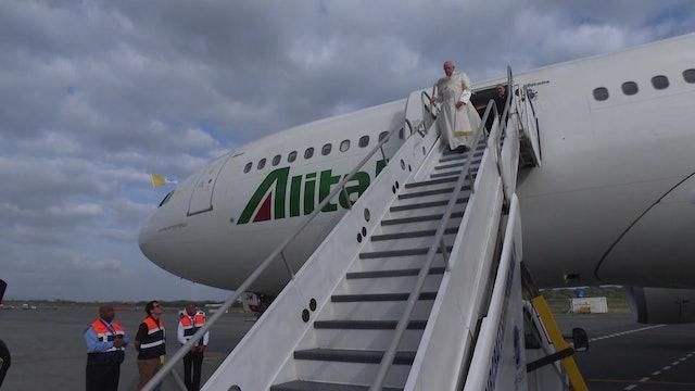 Ciclones y paisajes paradisíacos: así son los países de África donde va el Papa