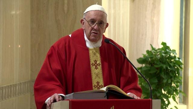 Papa: No es cristiano buscar influencias para crecer en la carrera eclesiástica