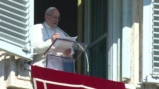Pope in Angelus: abuse of minors is a...