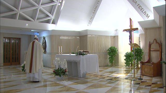 Papa: Sin testimonio y oración no se ...