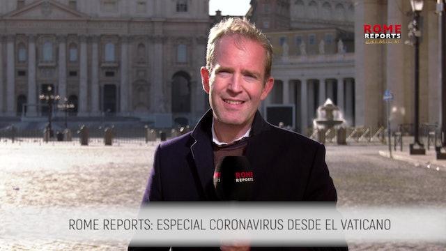 ESPECIAL CORONAVIRUS: Agenda reducida del Papa, permite enfocarse en la Curia