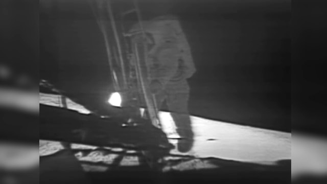 50 years after man lands on the moon, a giant leap for mankind