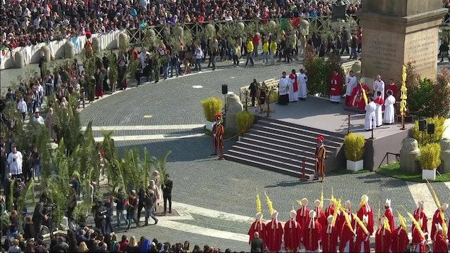 Papa preside mañana la primera ceremonia de la Semana Santa: solo y en streaming