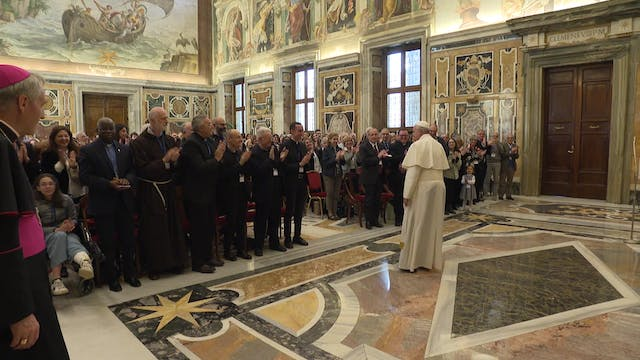 Pope to healthcare workers: The patie...