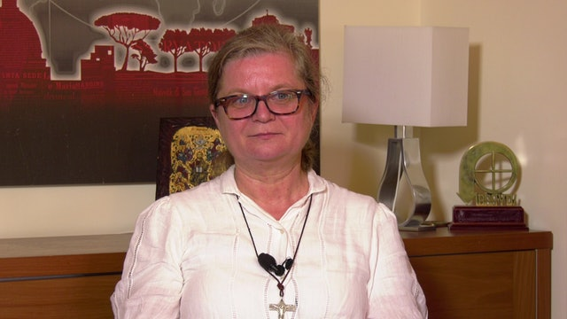 The Church against Human Trafficking under COVID19 - Sr. Gabriella Bottani