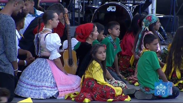 "Pope visits Roma community: ""The Chur..."