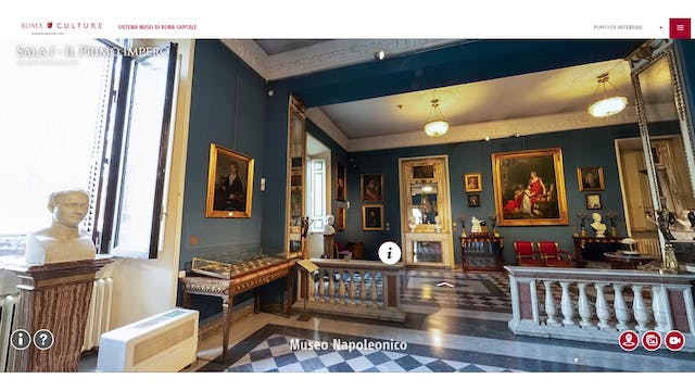 Rome launches virtual tours of its ei...