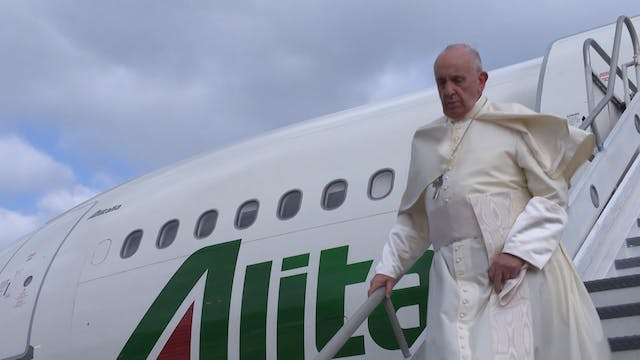 Pope's schedule shows no sign of slow...
