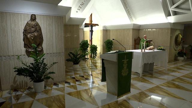 Papa en Santa Marta: El orden sacerdotal es un don, no una lista de funciones