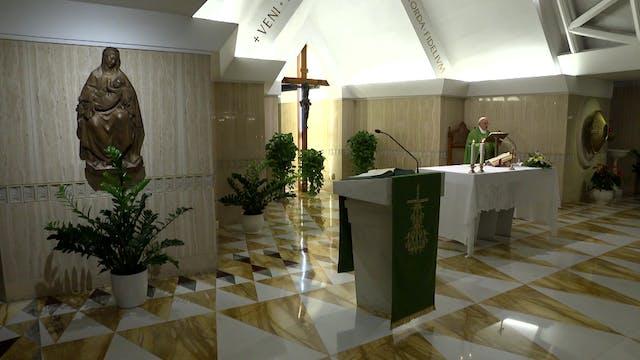 Papa en Santa Marta: El orden sacerdo...