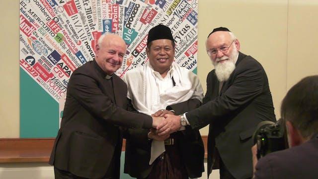 Líderes judíos, cristianos, musulmane...
