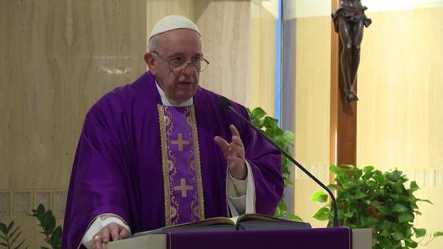 Papa en Santa Marta: Algunos cristian...