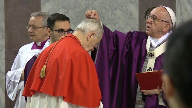 Francisco celebrará el miércoles de ceniza en el monte Aventino de Roma