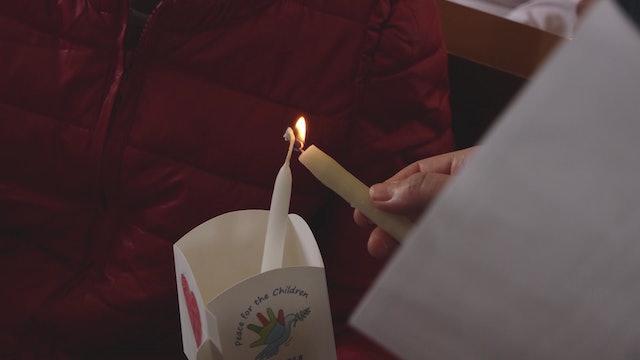 Niños de Siria envían velas a todos los países para pedir oraciones por la paz