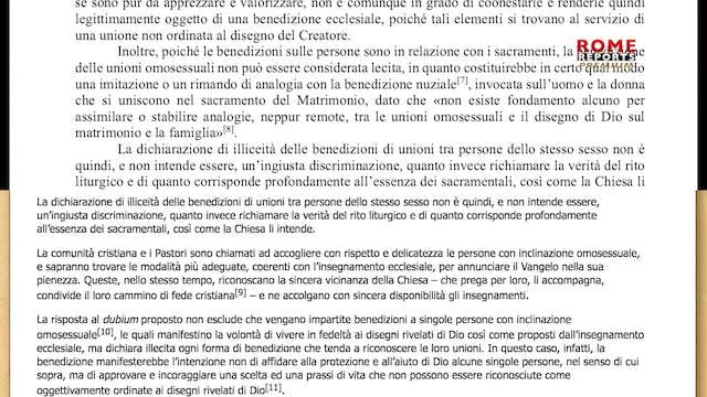Vatican explains why same-sex unions ...