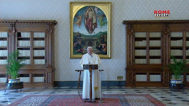 El Papa apoya el alto al fuego global...