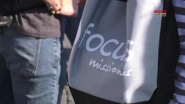 Los misioneros de FOCUS viajan desde Estados Unidos para evangelizar en Roma