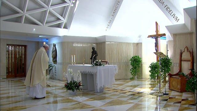 El Papa pide vencer las tentaciones d...