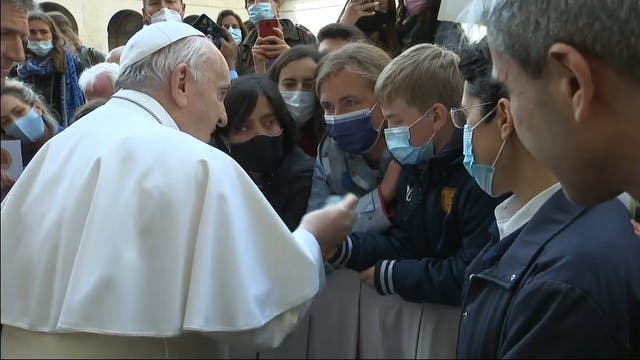 Pope Francis: Overcoming spiritual ch...