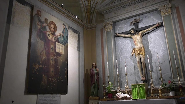 Ancient church in Rome dedicated to St. Nicholas