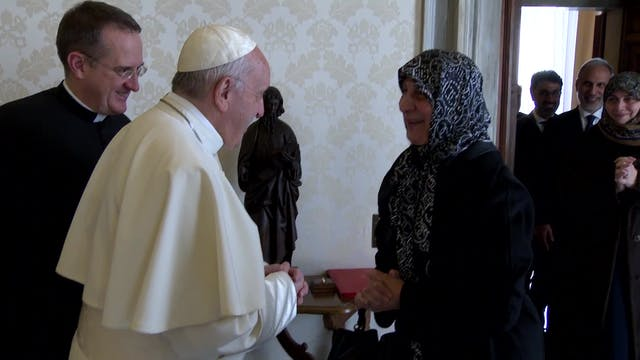 Pope Francis meets president of Musli...