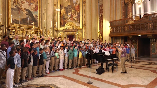 America's Ambassadors of Song bring message of international friendship to Rome