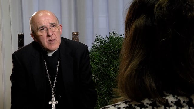 Cardinal publishes book of lessons fr...