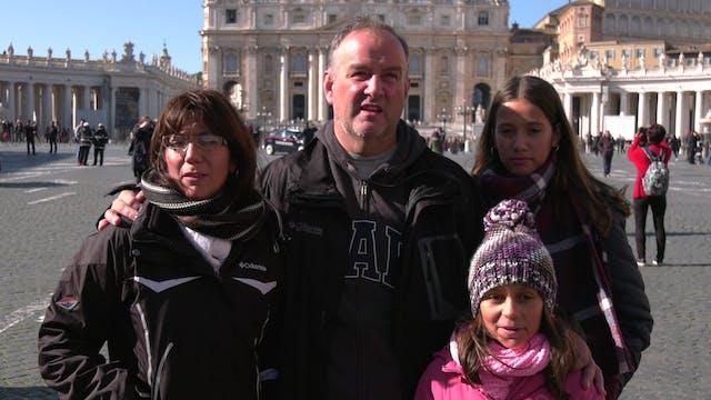 Familia de argentinos viajan hasta Ro...