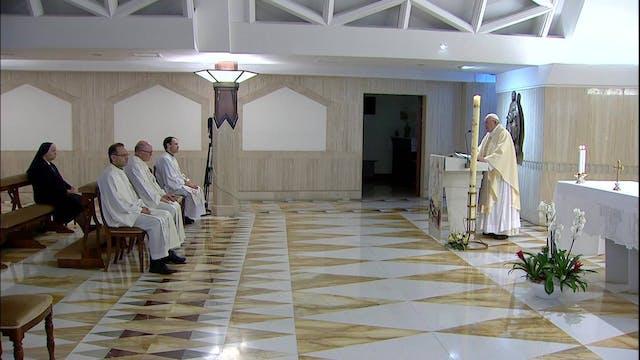 Papa en Santa Marta alerta del peligr...