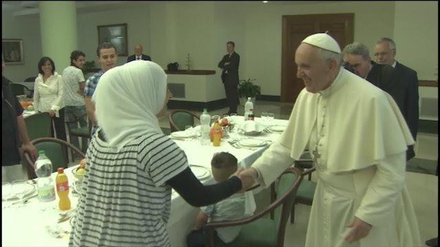 """""""El Papa Francisco nos devolvió la esperanza, nos lo ha dado todo"""""""