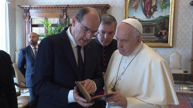 Papa y primer ministro francés hablan sobre secreto de confesión en abusos