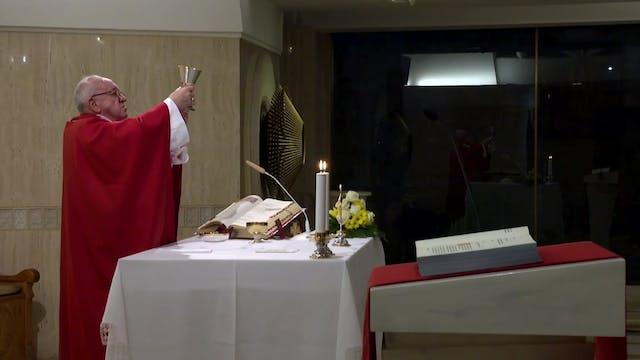 Papa en Santa Marta: El estilo cristi...