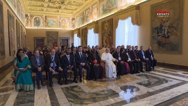 Pope Francis to mining companies: human rights are non-negotiable we need to res