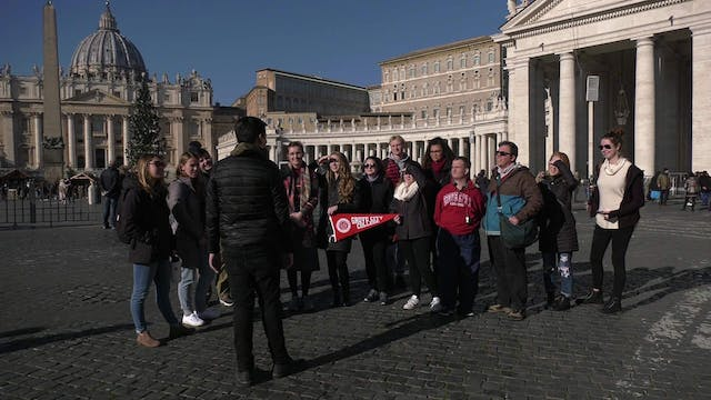Young Americans travel to Rome to stu...