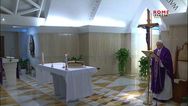 Papa explica la importancia del perdó...