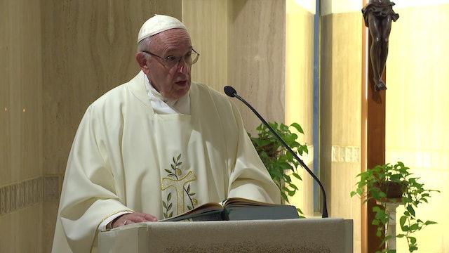 El Papa en Santa Marta: La rivalidad es destructiva y lleva al egoísmo