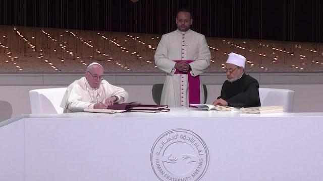 Secretario vaticano para Diálogo interreligioso: Documento de Abu Dabi es clave