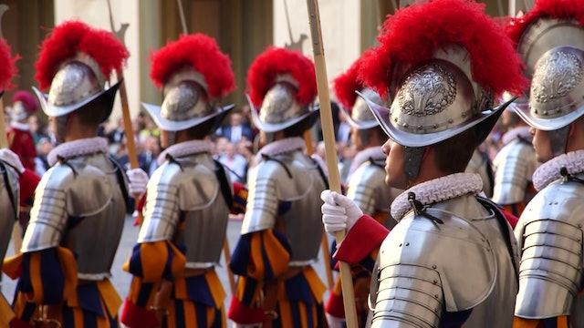 What it's like being chaplain of Swiss Guards