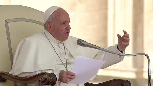 Fuerte denuncia de Francisco contra el aborto durante la audiencia general