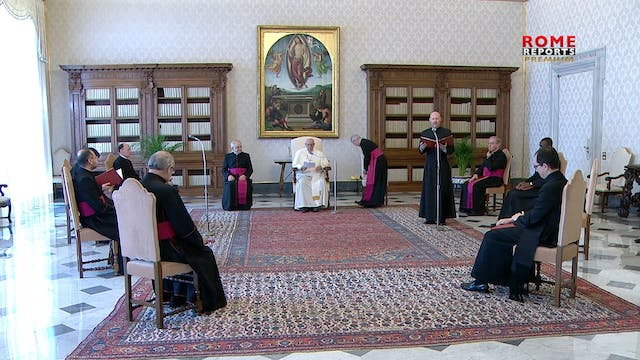 """Pope reflects on """"Blessed are those w..."""
