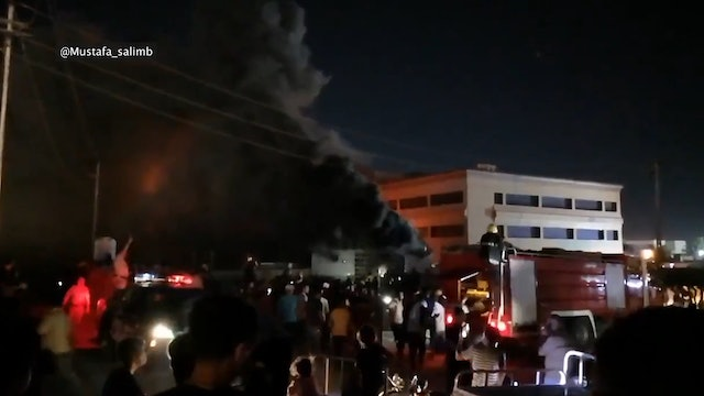 Pope Francis prays for victims of hospital fire in Iraq