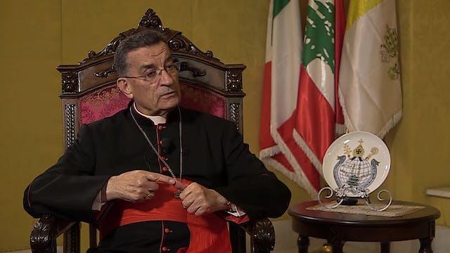 El Patriarca Maronita, cardenal Bécha...
