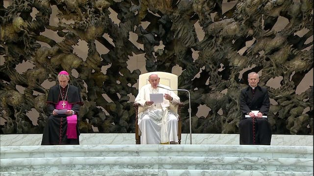 Pope Francis at general audience: The...