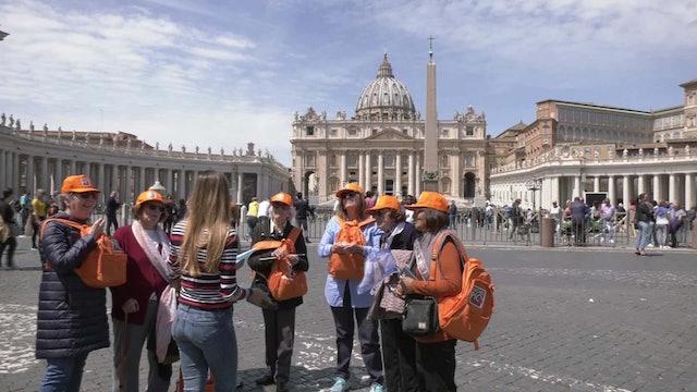 Grupo de argentinas viaja a Roma para ver al Papa y esperan que vaya a Argentina