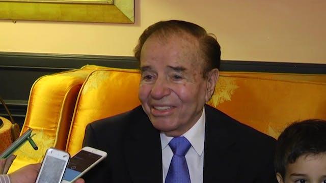 Fallece expresidente argentino Carlos...