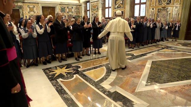 Papa a las Paulinas: Dejaos interpela...
