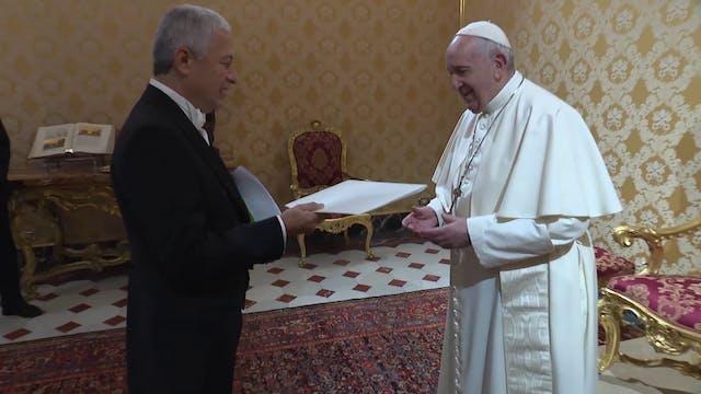 Nuevo embajador de Nicaragua entrega ...