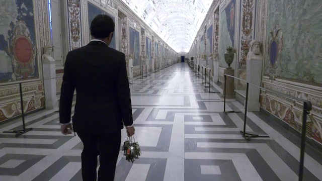 Vatican's key master gives an inside look at the Vatican Museums before dawn