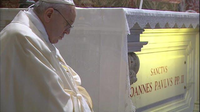 Pope celebrates Mass on centenary bir...
