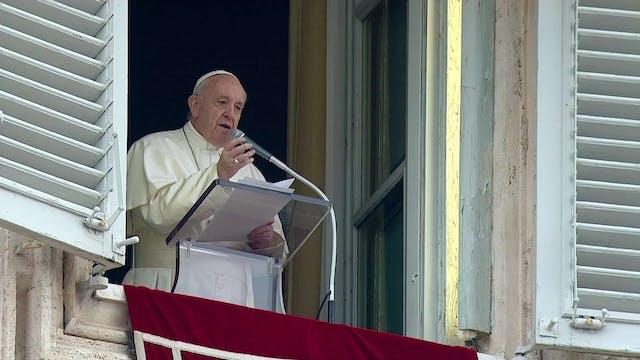 Francisco en el Ángelus: El mundo nec...